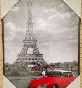 "Картина постер 30х40 ""Париж"""