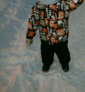 Куртка жилетка штаны зимнее для мальчика