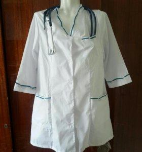 Новый халат медицинский