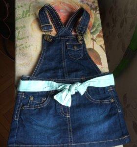 Новый джинсовый сарафанчик