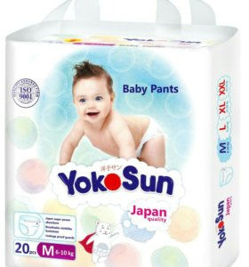 Японские подгузники YokoSun