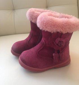 Детские зимние сапожки