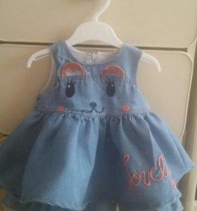 Джинсовая платья