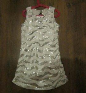 Платье на девочку р. 128-136