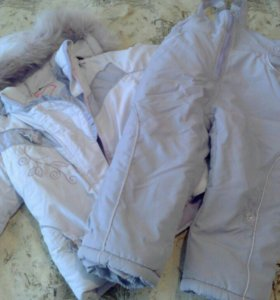 Зимний костюм : куртка и комбинезон