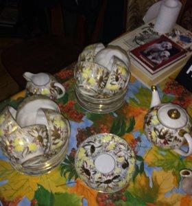 Фарфоровая посуда времён СССР