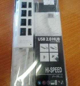 Разветвитель на 4 порта ( USB Hub)