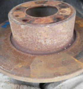 Bmw e34 тормозные диски без выработки