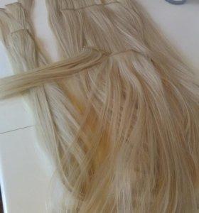 Волосы на заколках (55 см)