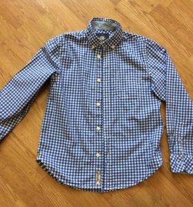 Рубашка на мальчика 9-10 лет H&M
