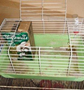 Клетка для кролика ,ежика ,шиншиллы