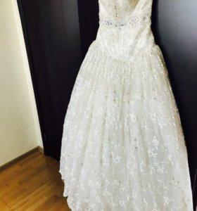 Сказочное свадебное платье