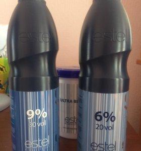 Оксигент для волос 6% и 9% ESTEL DE LUXE