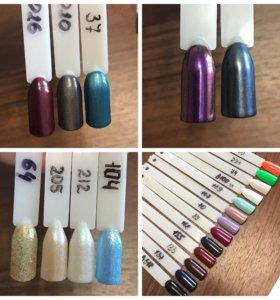 Гель-лаки и материалы для дизайна ногтей