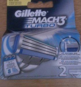 Кассеты для бритья Gillette Mach 3 Turbo
