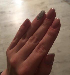 Наращивание ногтей , гель лак