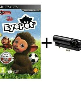 Камера PSP + игра EyePet