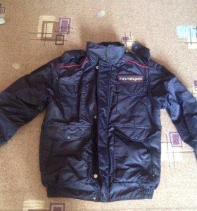 Куртка/ветровка полиция