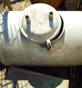 Алюминиевая бочка с крышкой