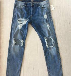 Новые мужские джинсы HM