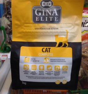 Gina Elite cat complete 1кг