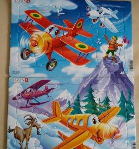 Пазл Larsen Самолеты