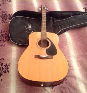 Акустическая гитара Yamaha f310 + чехол