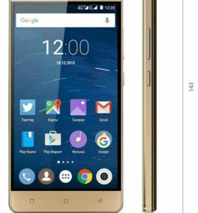 Highscreen Power Ice Gold LTE