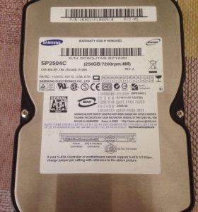 Жесткий диск SATA 3,5 250 Gb