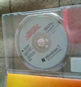 Лицензионный диск windows 7