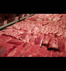 Мясо домашнее, свинина , телятина, баранина,