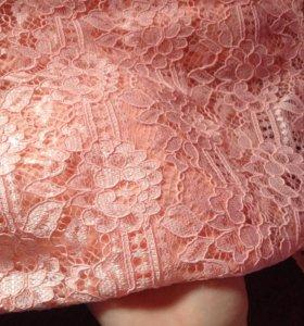 Выпускное платье,гипюровое