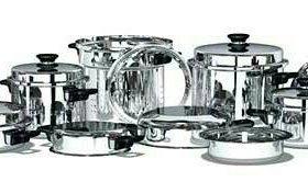 Посуда из настоящей стали