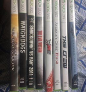 Игры на Xbox (лицензии)