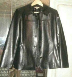 Куртка пиджак кожаная Ole