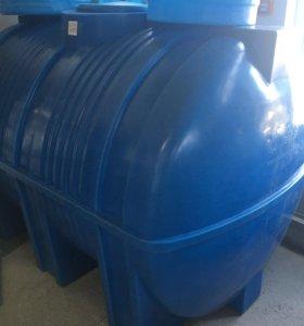 Ёмкость пластиковая 3000 литров