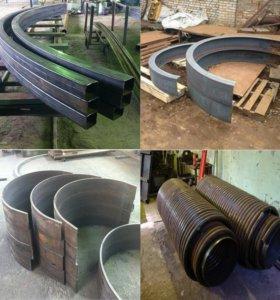 Гибка профильных труб, изготовление арок (дуг )