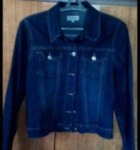 Джинсовые пиджаки-куртки)))б\у