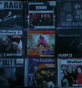 Зарубежный рок CD mp3. ЛОТ 1