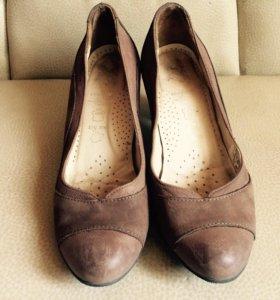 Туфли 36,5 кожа
