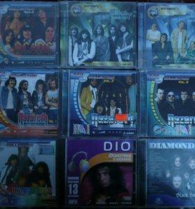 Зарубежный рок на CD mp3. ЛОТ 2