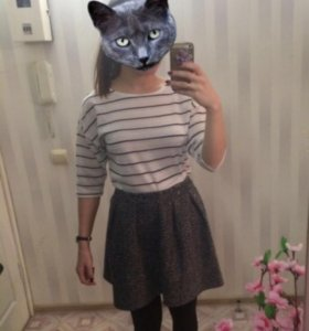 Тёплая юбка новая