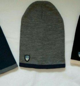 Новые стильные вязанные шапки