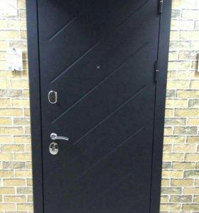 Дверь входная монтаж в подарок