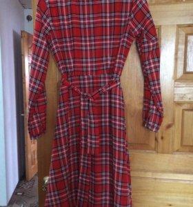 Платье,новое,ткань легкая