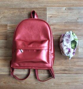 Рюкзак из ЭКО - кожи