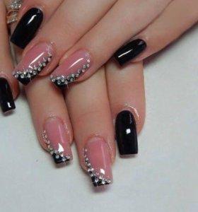 Наращивание ногтей)
