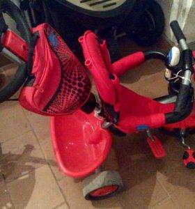 Трехколесный велосипед детский Smartrike