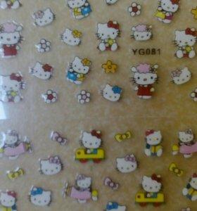 Наклейки Hello Kitty