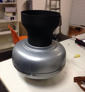 Вентилятор канальный 100 мм ВКК100